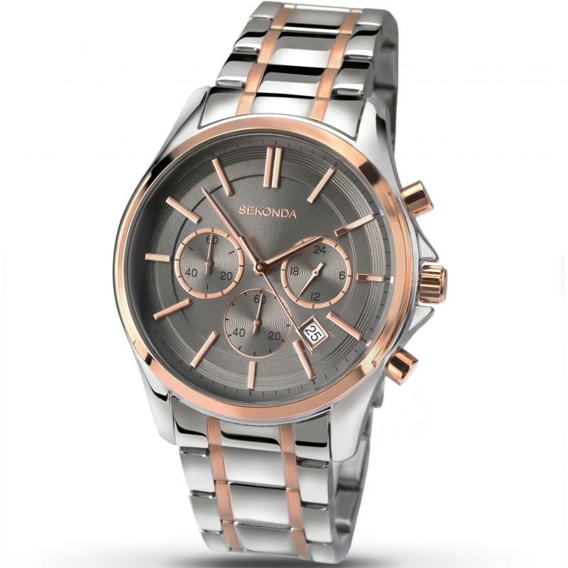Mens Sekonda Chronograph Watch 1181
