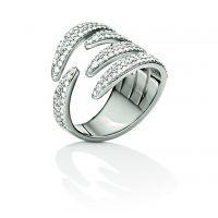 femme Folli Follie Jewellery Fashionably Silver Wrap Sparkle Ring Size N.5 Watch 5045.6047