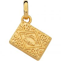 Links Of London Dames British Tea Keepsakes Custard Cream Charm Sterling Zilver 5030.2537