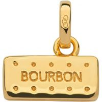 Ladies Links Of London Sterling Silver British Tea Keepsakes Bourbon Biscuit Charm