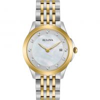 femme Bulova Diamond Gallery Diamond Watch 98S161
