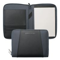 Hugo Boss Pens Keystone Grey A5 Conference Folder JEWEL