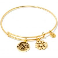 Ladies Chrysalis Gold Plated Friend & Family Daughter Expandable Bangle