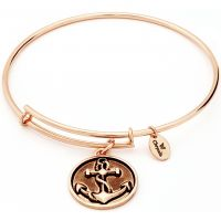Ladies Chrysalis Gold Plated Ambition Oceania Anchor Expandable Bangle