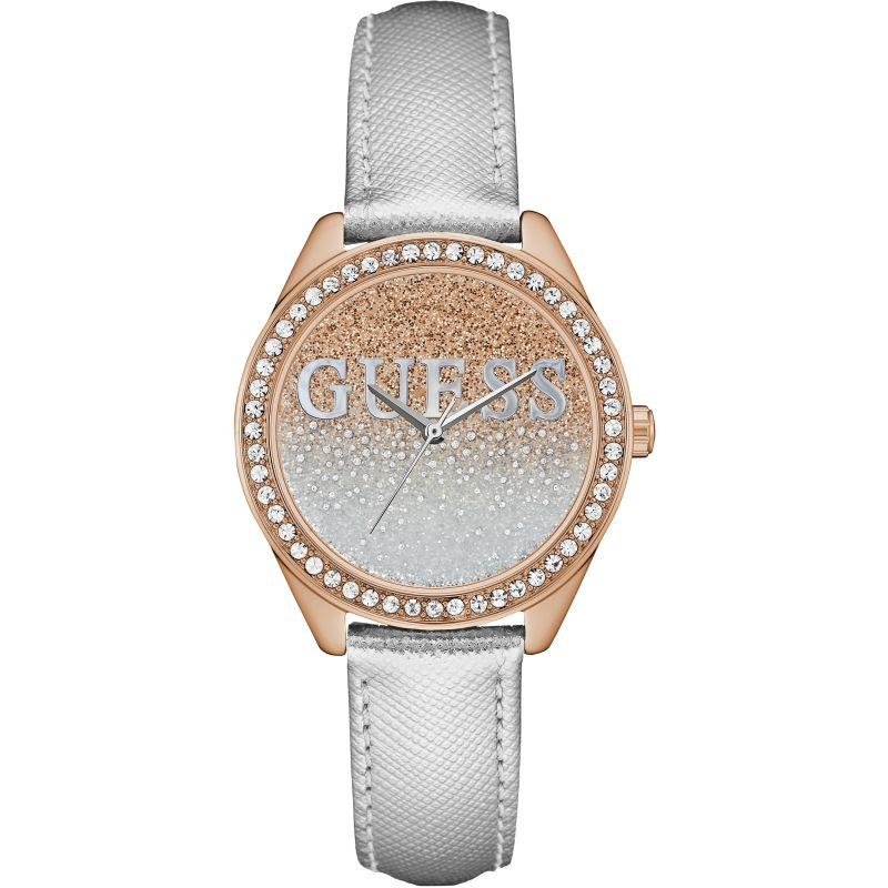 Ladies Guess Glitter Girl Watch W0823L7