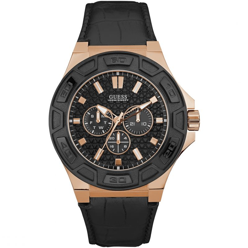 Mens Guess Force Watch W0674G6