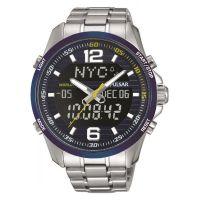 homme Pulsar Alarm Chronograph Watch PZ4003X1