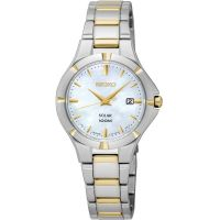 Ladies Seiko Solar Powered Watch SUT294P1