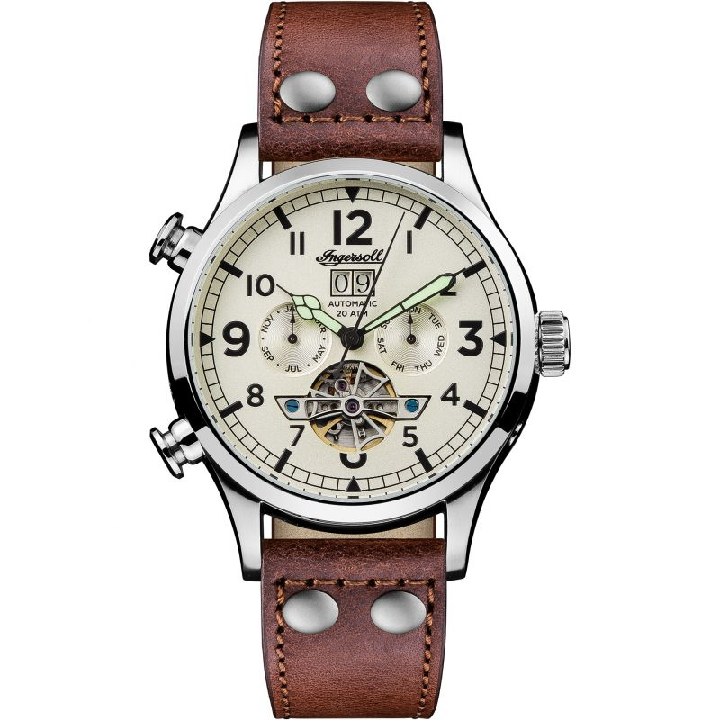 Herren Ingersoll The Armstrong Multifunction Watch I02101