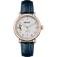 Ingersoll The Trenton Disney Limited Edition Dameshorloge Blauw ID00103