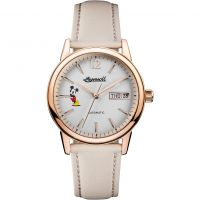 Ingersoll The New Haven Disney Limited Edition Dameshorloge Creme ID01102