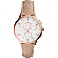 Ladies Fossil Abeline Chronograph Watch
