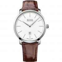 Herren Hugo Boss Schweizer hergestellt Slim Uhr
