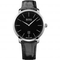Hugo Boss Swiss Made Slim Herrklocka Svart 1513258