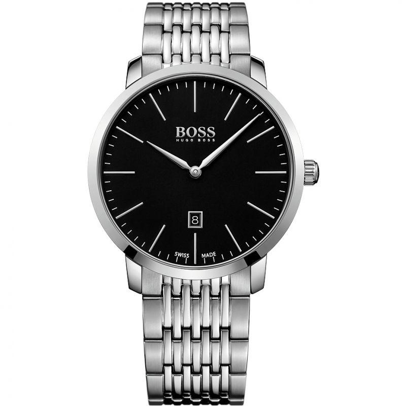 Herren Hugo Boss Swiss Made Slim Watch 1513259