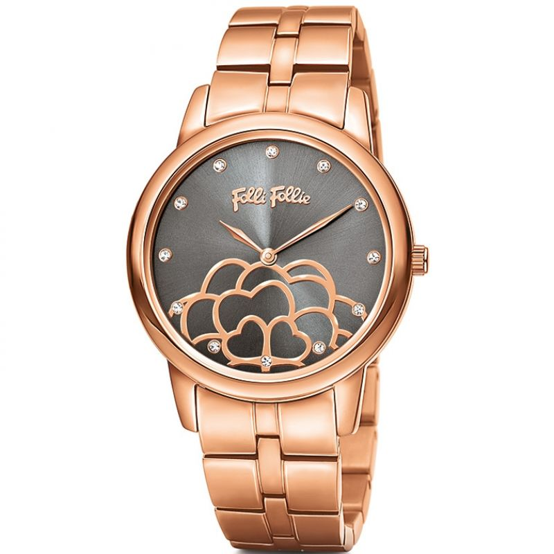 Ladies Folli Follie Half Sant Watch 6010.2100