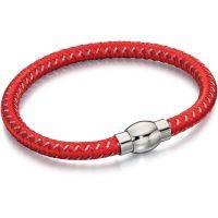 homme Fred Bennett Red Nylon Bracelet Watch B4736