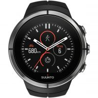 unisexe Suunto Spartan Ultra Ultra Black HR Bluetooth Alarm Watch SS022658000