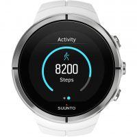 Unisex Suunto Spartan Ultra Ultra Weiß HR Bluetooth Wecker Chronograf Uhr