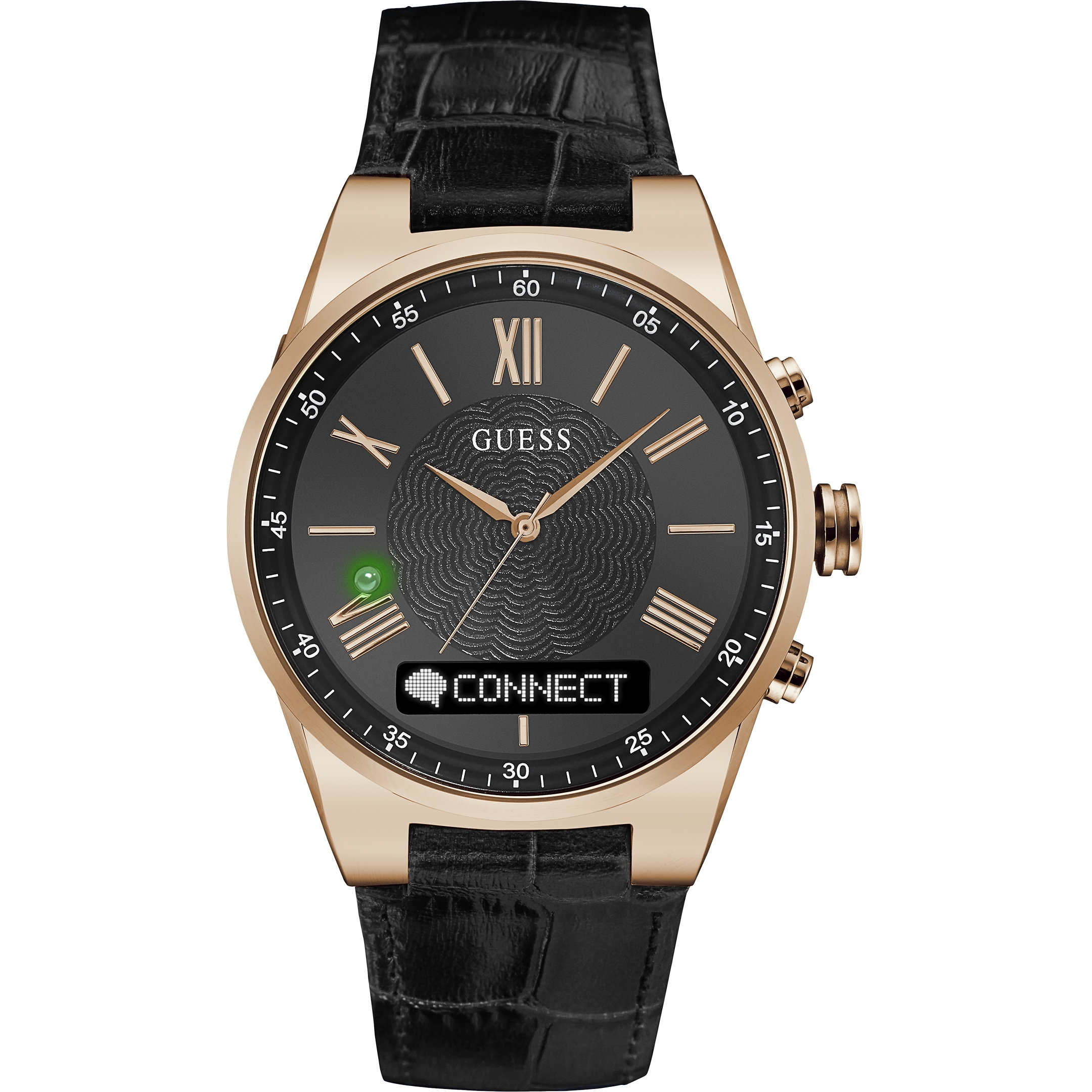 unisexe guess connect bluetooth hybride smartwatch montre c0002mb3. Black Bedroom Furniture Sets. Home Design Ideas