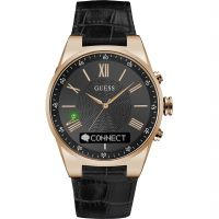 Guess Connect Bluetooth Hybrid Smartwatch Unisexklocka Svart C0002MB3
