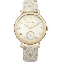 Ladies House Of Florrie Violet Printed Watch