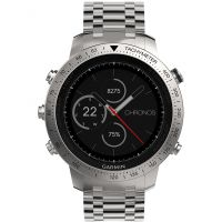 homme Garmin Fenix Chronos Bluetooth GPS HR Alarm Chronograph Watch 010-01957-02