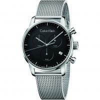 Herren Calvin Klein City Chronograph Watch K2G27121