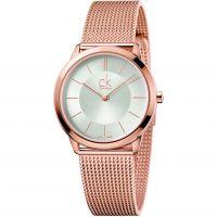 Damen Calvin Klein Minimal 35mm Watch K3M22626