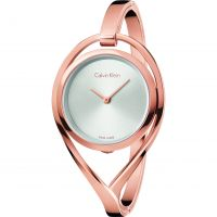 Calvin Klein Light Medium Bangle Damklocka Rosa K6L2M616