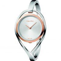 Damen Calvin Klein Light Small Bangle Watch K6L2SB16