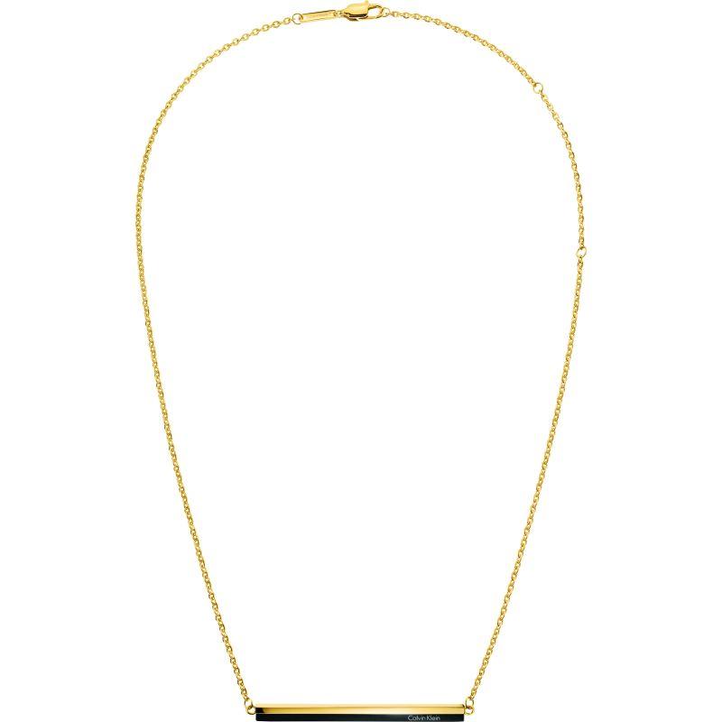 Ladies Calvin Klein Two-tone steel/gold plate Gorg Bico Necklace KJ5VBN200100