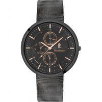 Herren Pierre Lannier Eleganz Extra Plat Uhr