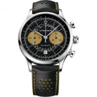 Mens Louis Erard Ultima Limited Edition Automatic Chronograph Watch