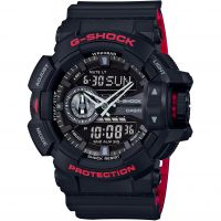 homme Casio G-Shock Alarm Chronograph Watch GA-400HR-1AER