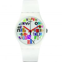 Orologio da Unisex Swatch Multi Collage SUOW132