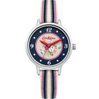 Damen Cath Kidston Clifton Rose Woven Armband Uhr