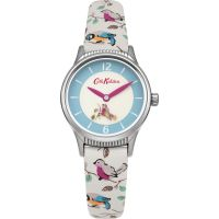 Cath Kidston Little Birds Rotating Disc Strap WATCH