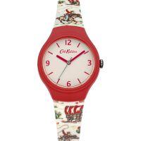 Damen Cath Kidston Cowboy Silicone Armband Uhr