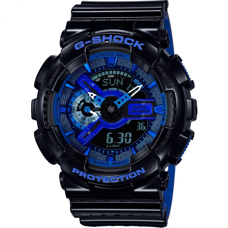 homme Casio G-Shock Alarm Chronograph Watch GA-110LPA-1AER