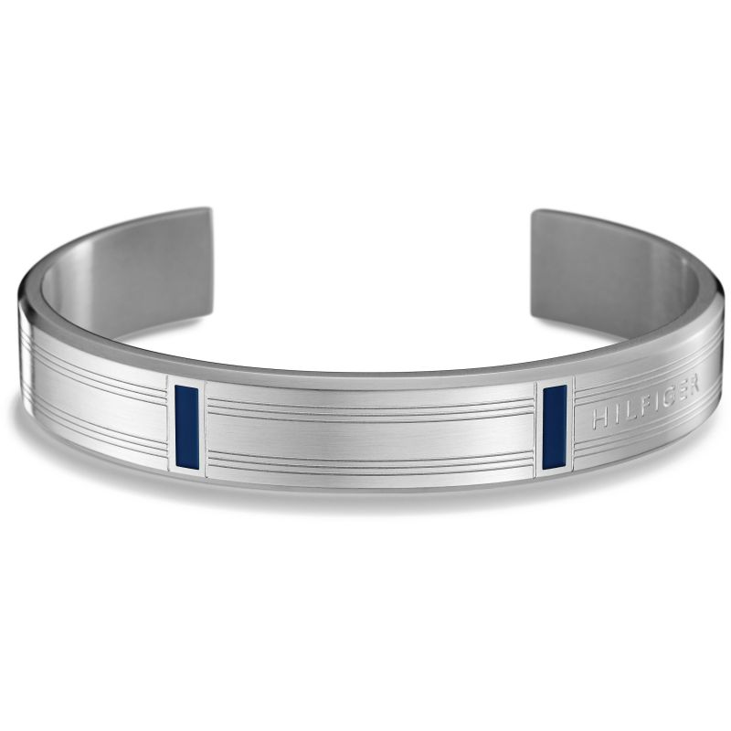 Mens Tommy Hilfiger Stainless Steel Bangle 2700759