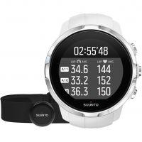 Unisex Suunto Spartan Racer Bluetooth Weiß HR bundle Wecker Chronograf Uhr