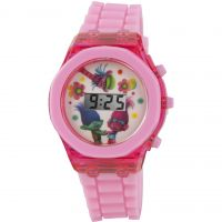 Character Trolls LCD WATCH