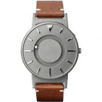 unisexe Eone The Bradley Classic Cognac Leather Strap Watch BR-BRWN