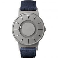Unisex Eone The Bradley Canvas Blau Armband Titan Uhr