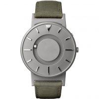 Unisex Eone The Bradley Canvas Olivgrün Grün Armband Titan Uhr