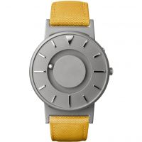 unisexe Eone The Bradley Canvas Mustard Yellow Strap Watch BR-C-YELLOW