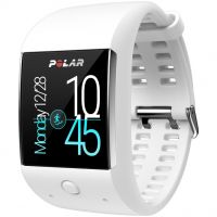 Polar M600 HR GPS Bluetooth Android Wear Unisex horloge Wit 90062397