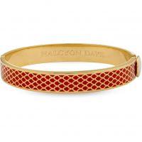 Damen Halcyon Days vergoldet Salamander Armreif