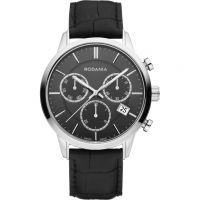 Mens Rodania Swiss Ontario Gents strap Chronograph Watch